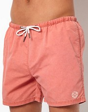 River Island Sun Sulphur Swim Shorts