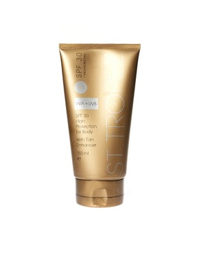 Image 1 ofSt Tropez SPF 30 Body With Tan Enhancer 150ml