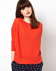 Sessun Boxy Lightweight Knitted Jumper