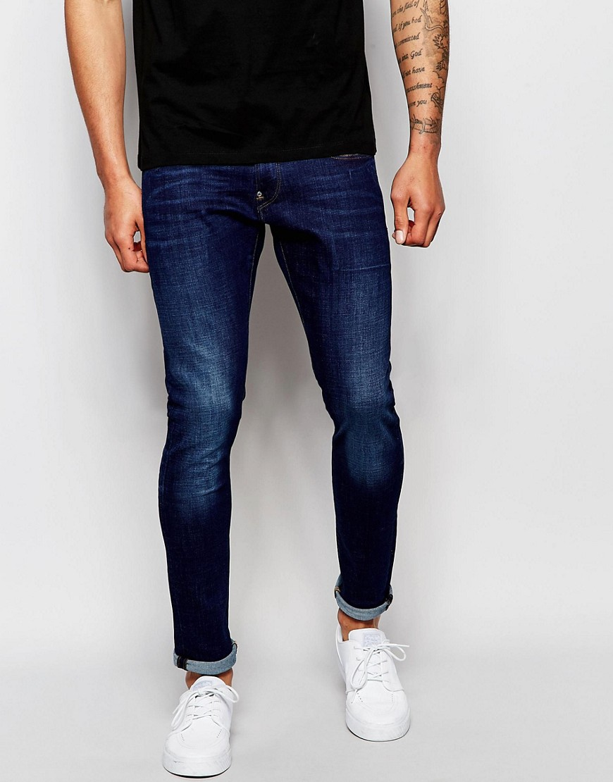 G-Star Jeans Revend Super Slim Fit Stretch Dark Aged