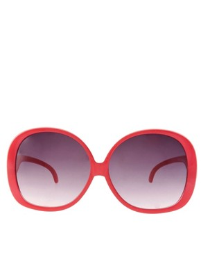 Image 2 of ASOS Mega Oversized 70's Sunglasses
