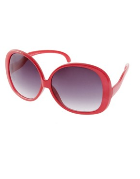 Image 1 of ASOS Mega Oversized 70's Sunglasses