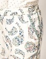 Image 3 ofOysho Floral Paisley Print Harem Lounge Pant