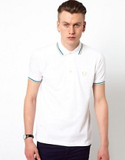 Polo con doble raya de Fred Perry Laurel Wreath - Hecho en Japn