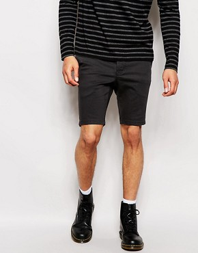 Religion Skinny Fit Chino Shorts