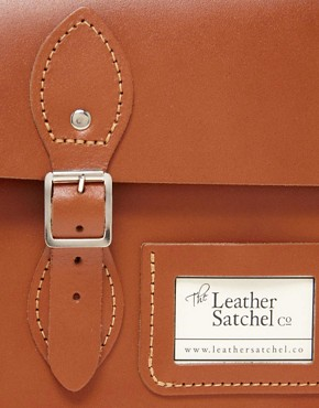 "Image 2 of The Leather Satchel Company 14"" Satchel"