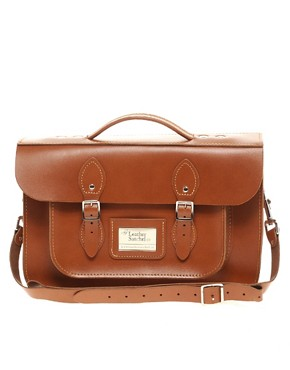 "Image 1 of The Leather Satchel Company 14"" Satchel"