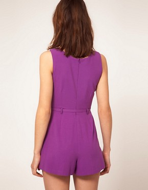 Image 2 ofRiver Island Colour Block Playsuit
