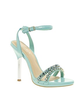 Image 1 ofCarvela Ginny Jewel Strappy Heeled Sandals