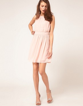 Image 4 ofASOS Mini Dress With Grecian Detail