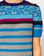 Image 3 ofSonia by Sonia Rykiel Short Sleeve Fairisle Knit