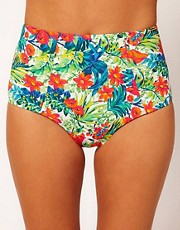 Gossard Floral Retro High Waist Short