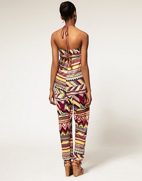 Image 2 ofM Missoni Jersey Rope Tie Bandeau Jumpsuit