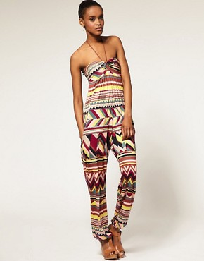 Image 4 ofM Missoni Jersey Rope Tie Bandeau Jumpsuit