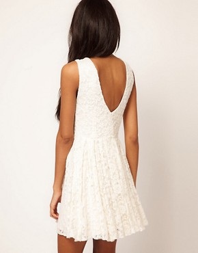 Image 2 ofTFNC Skater Dress in Lace