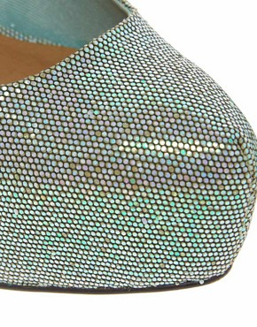 Image 2 ofASOS PUFFIN Metallic Platforms