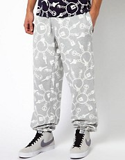 Kidda Christopher Shannon Trousers with Keyring Print