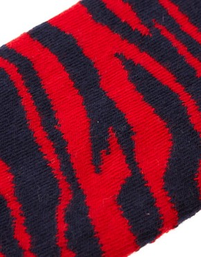 Image 2 ofHappy Socks Nation Zebra Socks