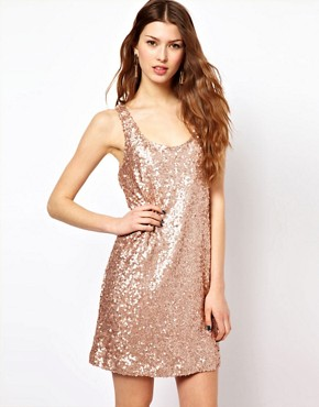 Image 1 ofFrench Connection Sequin Dress