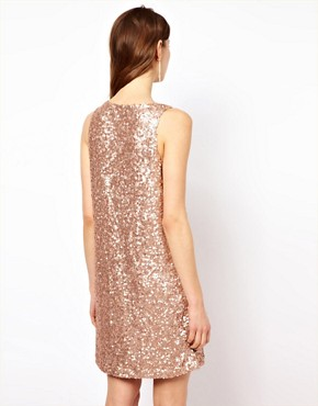 Image 2 ofFrench Connection Sequin Dress