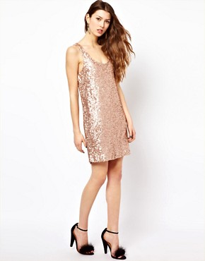 Image 4 ofFrench Connection Sequin Dress