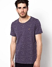 Farah Vintage T-Shirt with All Over Print