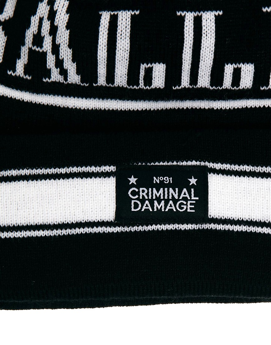 Image 4 of Criminal Damage Bobble Hat