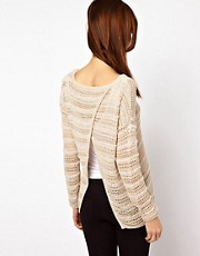 Warehouse Ribbon Stripe Jumper