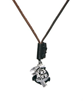 Image 1 ofIcon Brand Charm Necklace