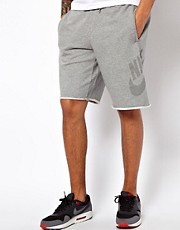 Nike  Sweat-Shorts mit Retro-Logo