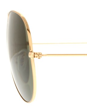 Bild 4 von Ray-Ban  Groe Pilotensonnebrille mit Metallfassung