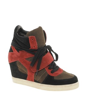 Image 1 of Ash Cool Multicoloured Wedge Trainers