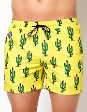 Short de bao con diseo de cactus de Pa:Nuu