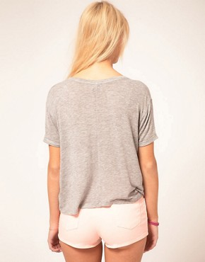 Image 2 ofASOS T-Shirt in Slouch Loose Knit