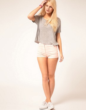 Image 4 ofASOS T-Shirt in Slouch Loose Knit