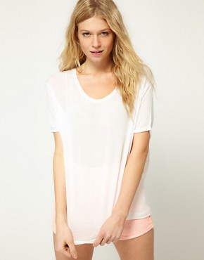 Image 1 ofASOS T-Shirt in Slouch Loose Knit