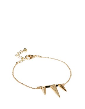 Image 1 ofASOS Three Spike Bracelet