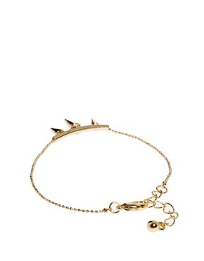 Image 2 ofASOS Three Spike Bracelet