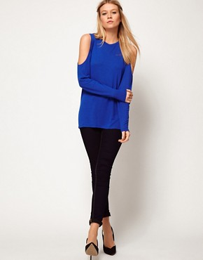 Image 4 ofASOS Top with Cold Shoulder