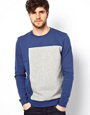 ASOS Sweatshirt With Square Cut And Sew