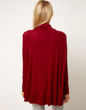 Image 2 ofASOS Top with Circle Roll Neck