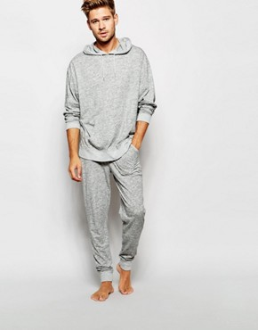 ASOS Loungewear Joggers In Lightweight Slub Fabric