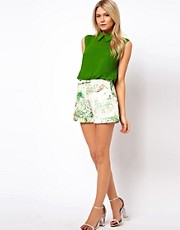 Ted Baker Shorts in Dancing Leaves Print