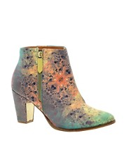 Miista Val Tex Multi Heeled Zip Ankle Boots