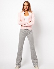Pantaln de velour con pernera pitillo acampanada de Juicy Couture