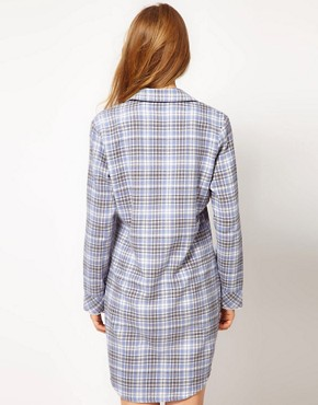 Image 2 ofEsprit Nordic Check Night Shirt