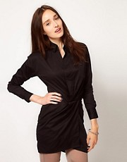 JNBY Shirt Dress with Pulled in Waist