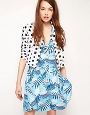 bStore for ASOS Cher Jacket in 90s Print