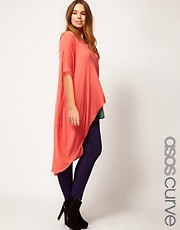 ASOS CURVE Exclusive Jersey Dip Back