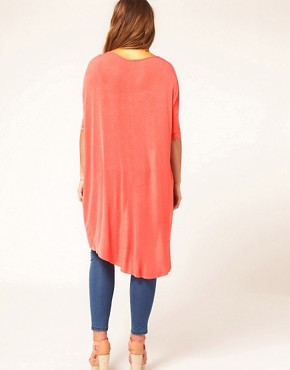 Image 2 ofASOS CURVE Exclusive Jersey Dip Back
